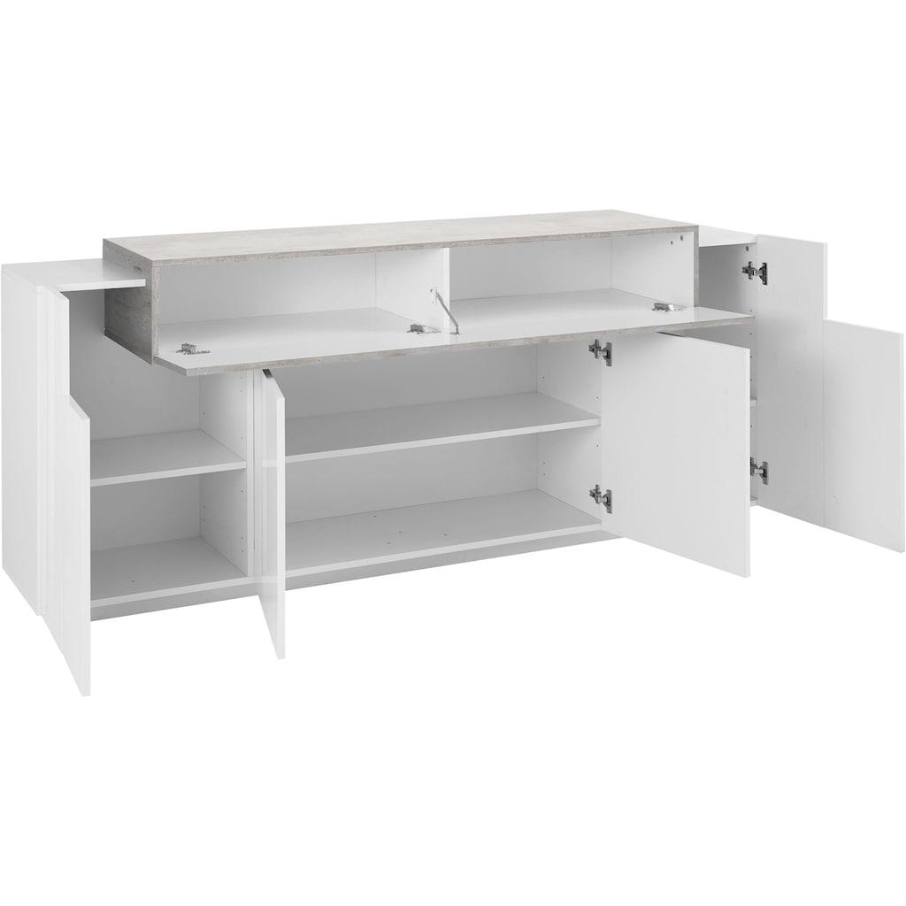 Tecnos Sideboard »Coro«, Breite 200 cm