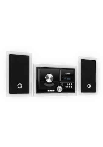 Auna Stereo System Kompaktanlage Vertikal Anlage Bluetooth USB CD »Stereosonic« kaufen