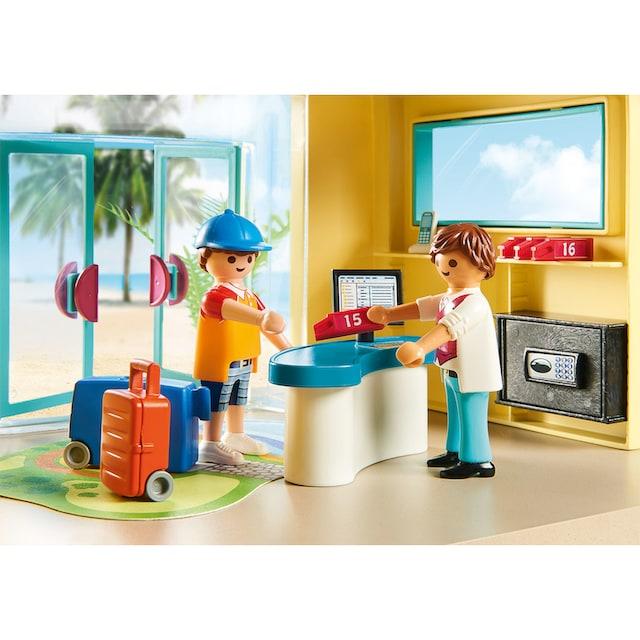 "Playmobil® Konstruktions-Spielset ""PLAYMO Beach Hotel (70434), Family Fun"", Kunststoff"