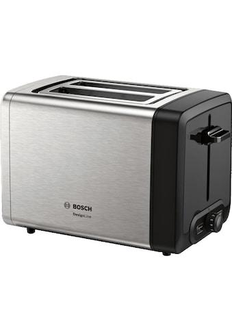 BOSCH Toaster »TAT4P420DE DesignLine«, 2 kurze Schlitze, 820 W kaufen