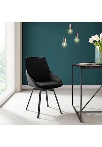 INOSIGN Esszimmerstuhl »Merisa«, 2er-Set mit gepolstertem Sitz und Rückenlehne,... kaufen