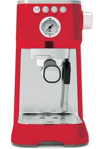 SOLIS OF SWITZERLAND Siebträgermaschine 980.19 Barista Perfetta Plus (Typ 1170) Rot kaufen