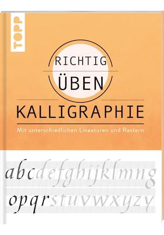 Buch »richtig üben Kalligraphie / Andreas Lux« kaufen