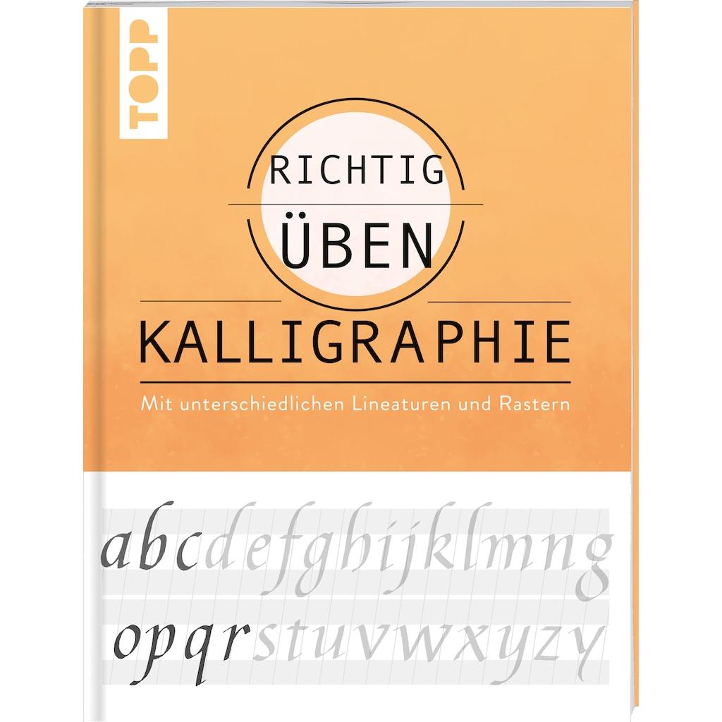 Buch »richtig üben Kalligraphie / Andreas Lux«