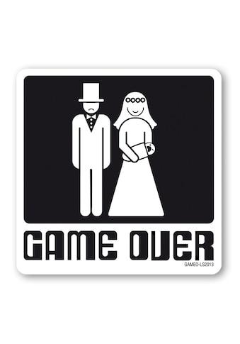 LOGOSHIRT Untersetzer mit Game Over-Print kaufen
