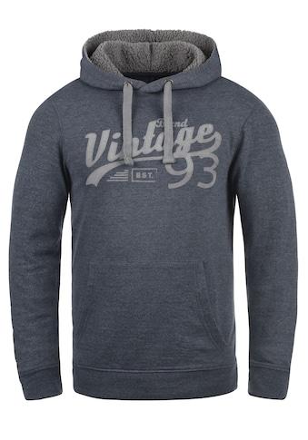 Blend Hoodie »Vince Teddy«, Kapuzensweatshirt mit gefütterter Kapuze kaufen