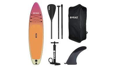 YEAZ Inflatable SUP-Board »PARADISE BEACH - EXOTREK -«, (5 tlg.), inkl. Alu-Paddel,... kaufen
