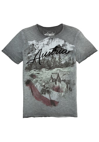Hangowear Trachtenshirt, Herren, mit Print kaufen