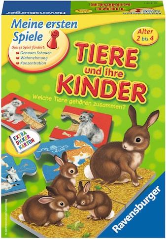 Ravensburger Spiel »Tiere und ihre Kinder«, Made in Europe, FSC® - schützt Wald -... kaufen