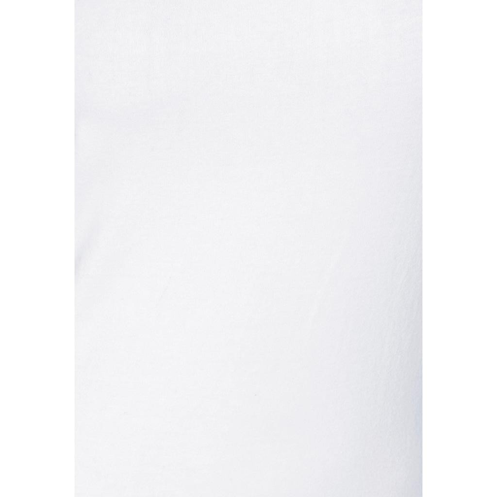 H.I.S Spaghettitop, (2er-Pack), aus elastischer Baumwoll-Qualität