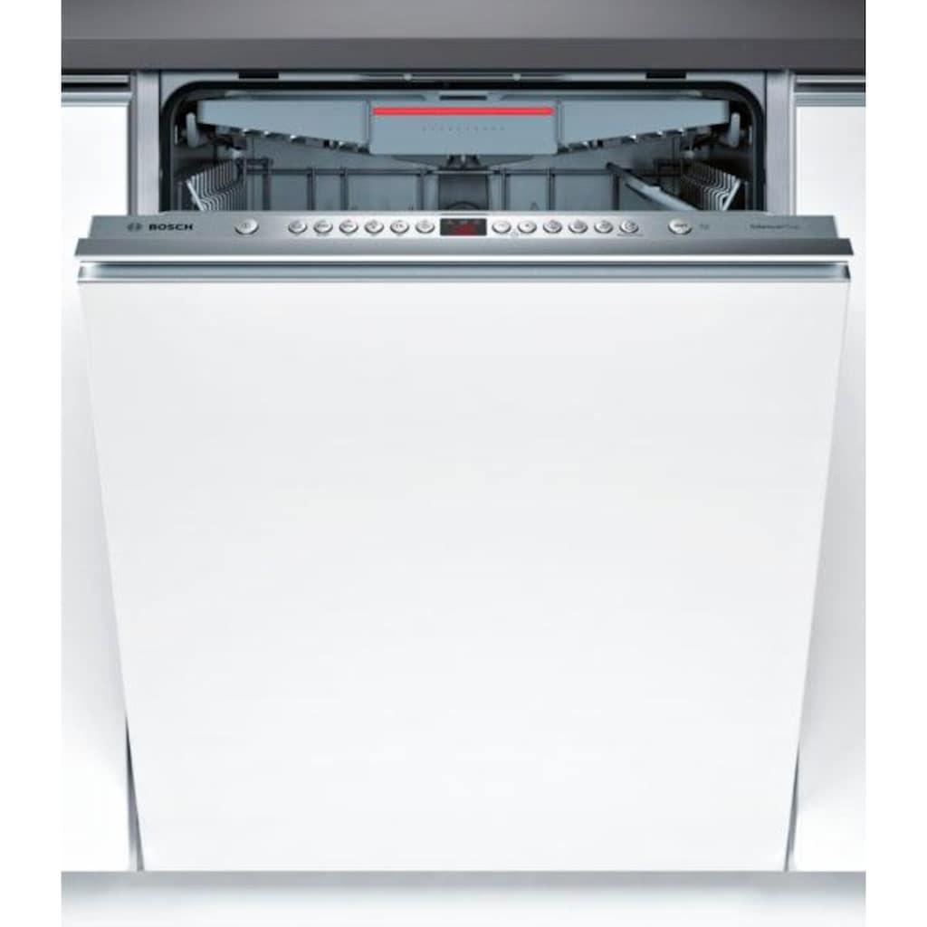 BOSCH vollintegrierbarer Geschirrspüler »SMV46KX03E«, Serie 4, SMV46KX03E, 13 Maßgedecke