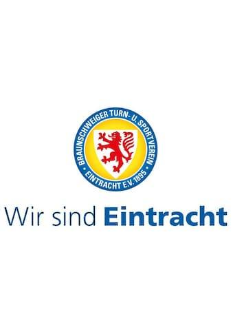 Wall-Art Wandtattoo »Wir sind Eintracht Braunschweig« kaufen