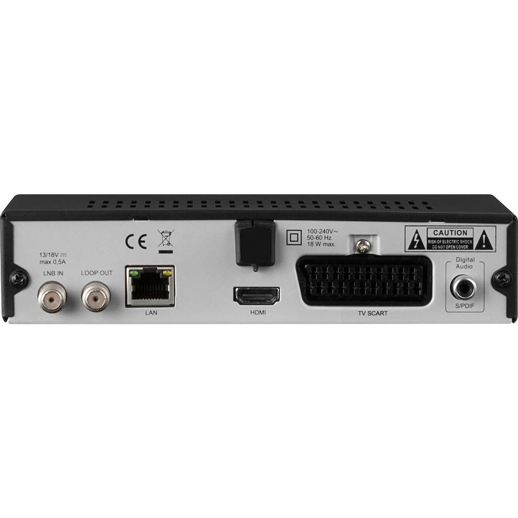 TechniSat Satellitenreceiver »HD-S 221 HD-«, (LAN (Ethernet), mit HDMI, USB Mediaplayer