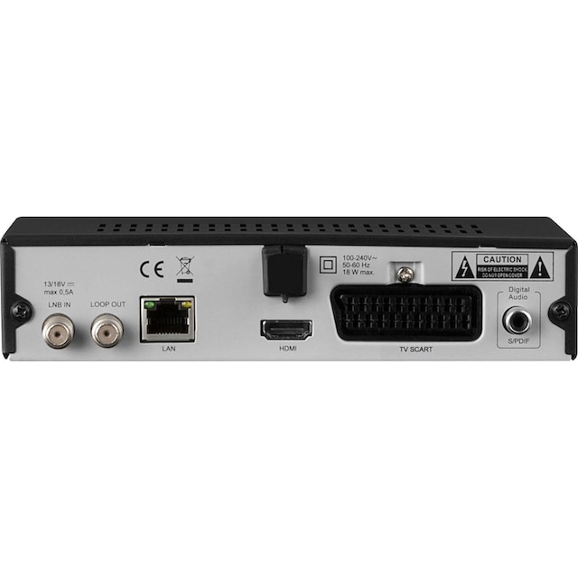 TechniSat »HD-S 221« SAT-Receiver (LAN (Ethernet))