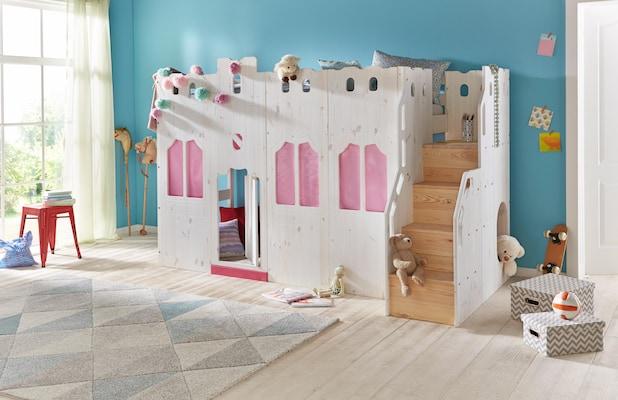 Spielbett als Schloss