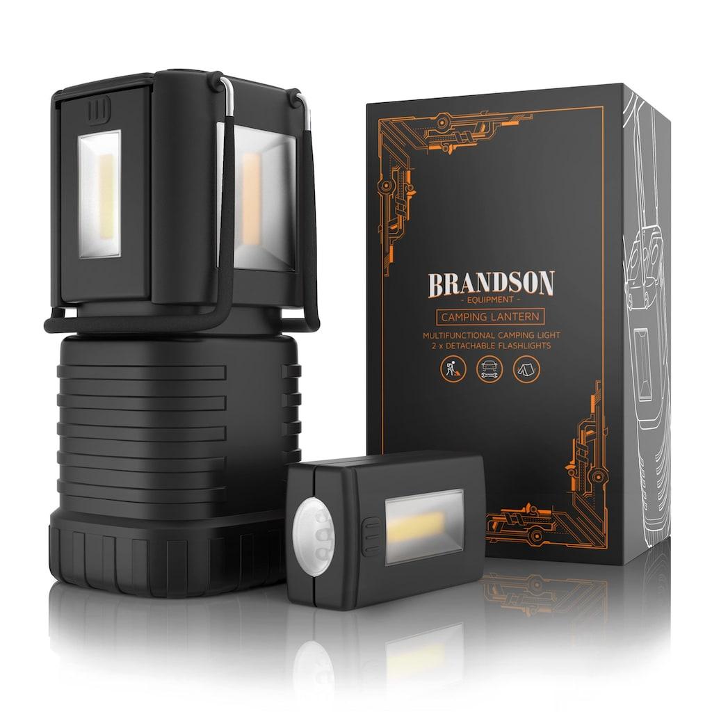 Brandson spritzwassergeschützte LED Campinglampe