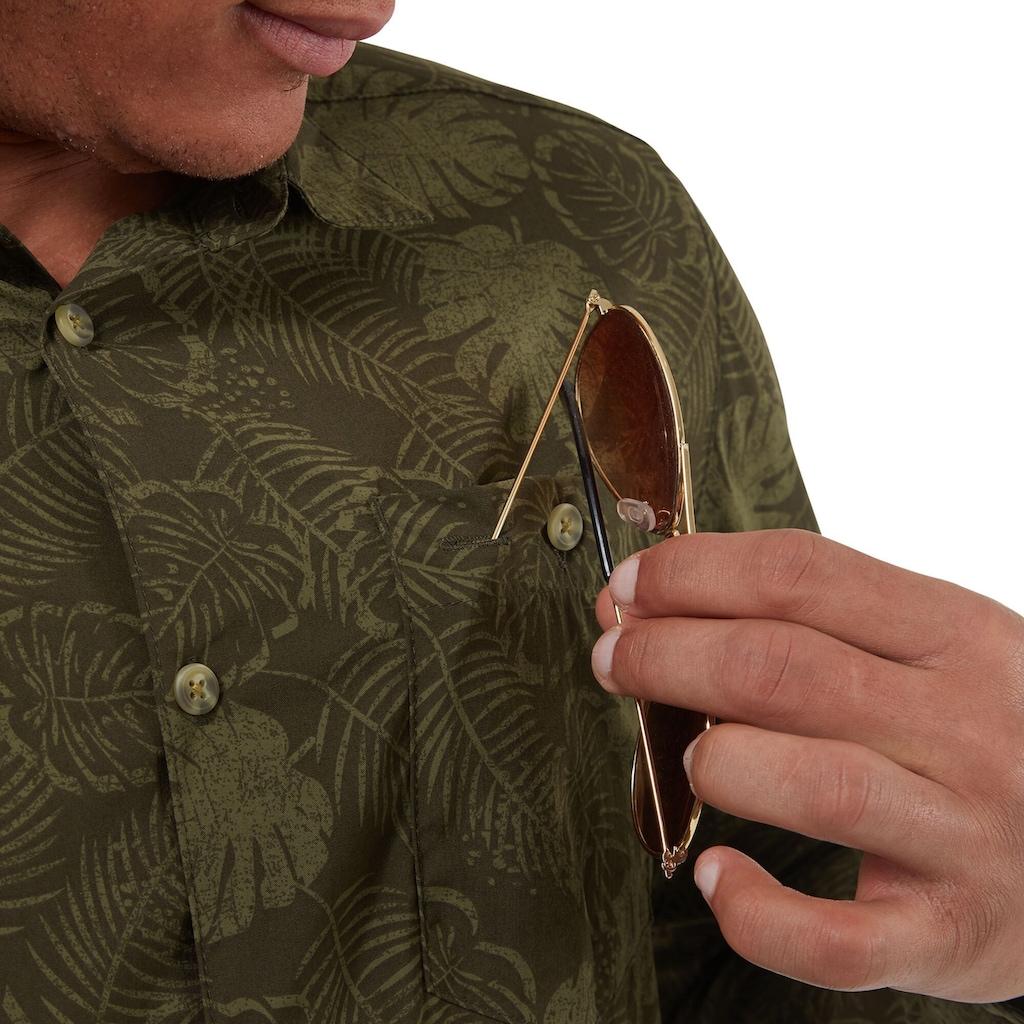 Craghoppers Funktionshemd »Herren Langarmhemd NosiLife Lester gemustert«
