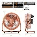 Brandson Metall Windmaschine im Kupfer Design