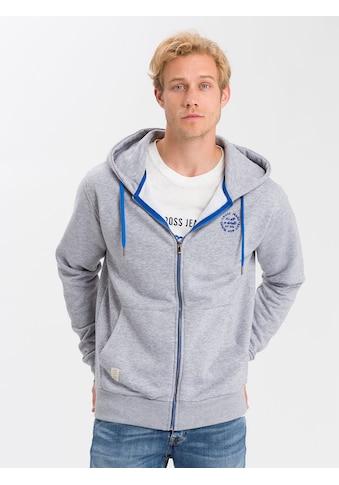Cross Jeans® Kapuzensweatjacke »25203« kaufen