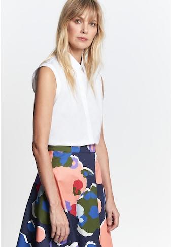 seidensticker Hemdbluse »Schwarze Rose«, Ohne Arm Kragen Uni kaufen