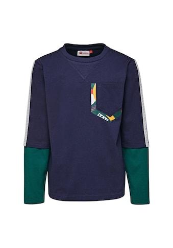 LEGO® Wear Langarmshirt »THOMAS 709«, mit doppelten Ärmel Look kaufen