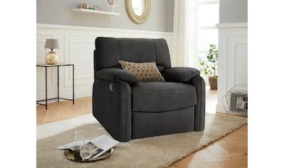exxpo - sofa fashion Relaxsessel, manuell verstellbar kaufen