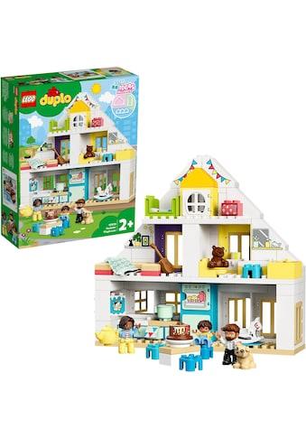 """LEGO® Konstruktionsspielsteine """"Unser Wohnhaus (10929), LEGO® DUPLO® Town"""", (129 - tlg.) kaufen"""