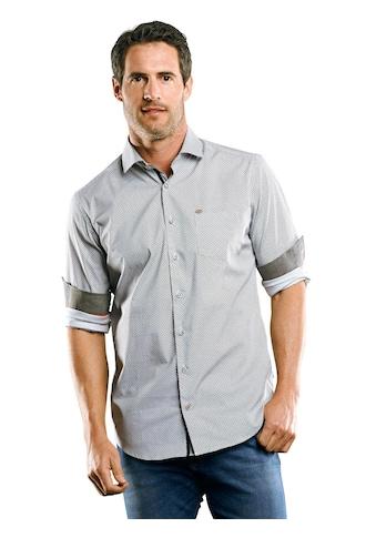 Engbers Dezent gemustertes Langarmhemd kaufen