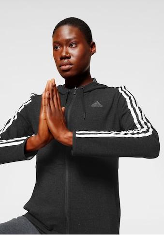 adidas Performance Sweatjacke »3 STRIPES KNIT FULL ZIP HOODY« kaufen