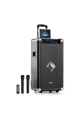"Auna PA - Anlage 2x8"" Woofer 60/200 Wmax. VHF - Mikro USB SD BT AUX mobil »PAS5 - Auna Moving - 120« kaufen"