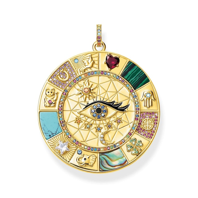 THOMAS SABO Kettenanhänger »Amulette magische Glückssymbole, PE855-993-7«