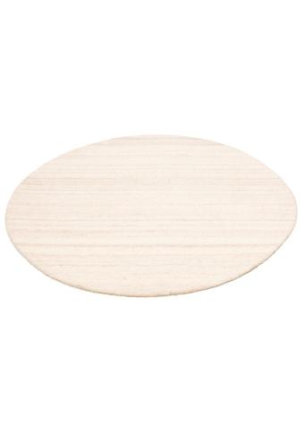 COUCH♥ Wollteppich »Tarik«, rund, 18 mm Höhe, reine Wolle, COUCH Lieblingsstücke,... kaufen