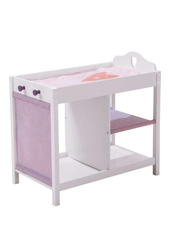 roba® Puppenwickeltisch »Weiß-Lila« kaufen