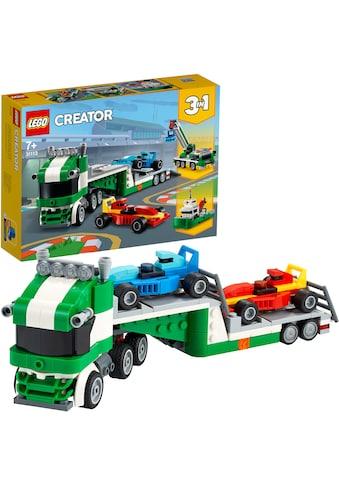 LEGO® Konstruktionsspielsteine »Rennwagentransporter (31113), LEGO® Creator«, (328... kaufen