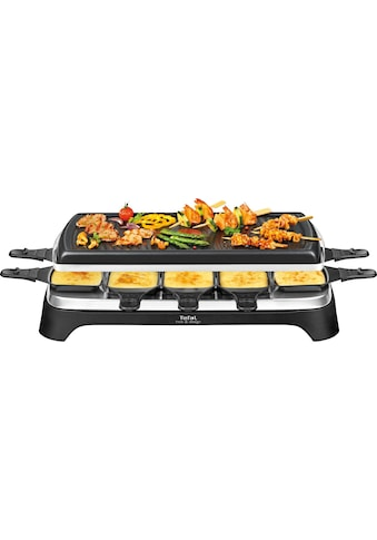 Tefal Raclette RE4588, 10 Raclettepfännchen, 1350 Watt kaufen