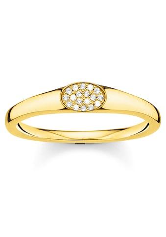 THOMAS SABO Fingerring »weiße Steine, TR2315-414-14-48, 50, 52, 54, 56, 58, 60«, mit... kaufen