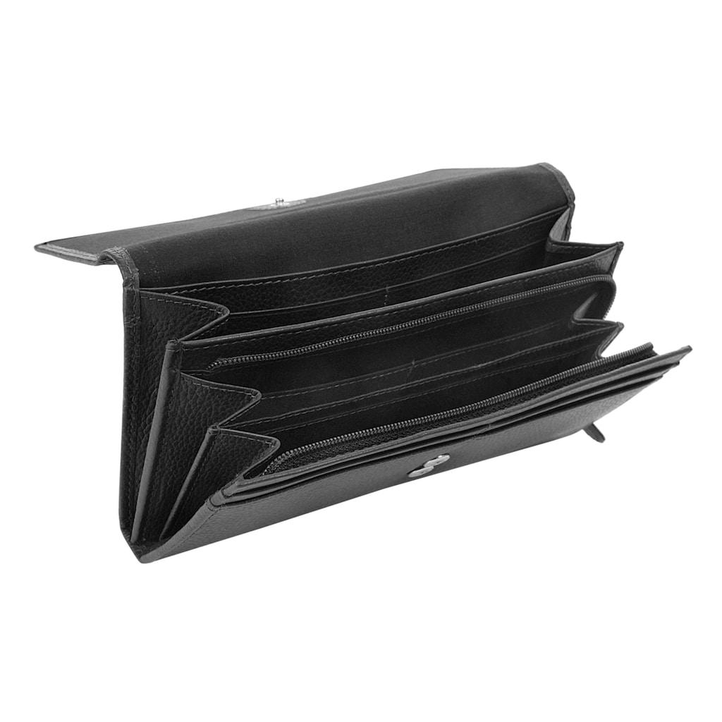 bugatti Geldbörse »LINDA«, Kreditkartenfächer