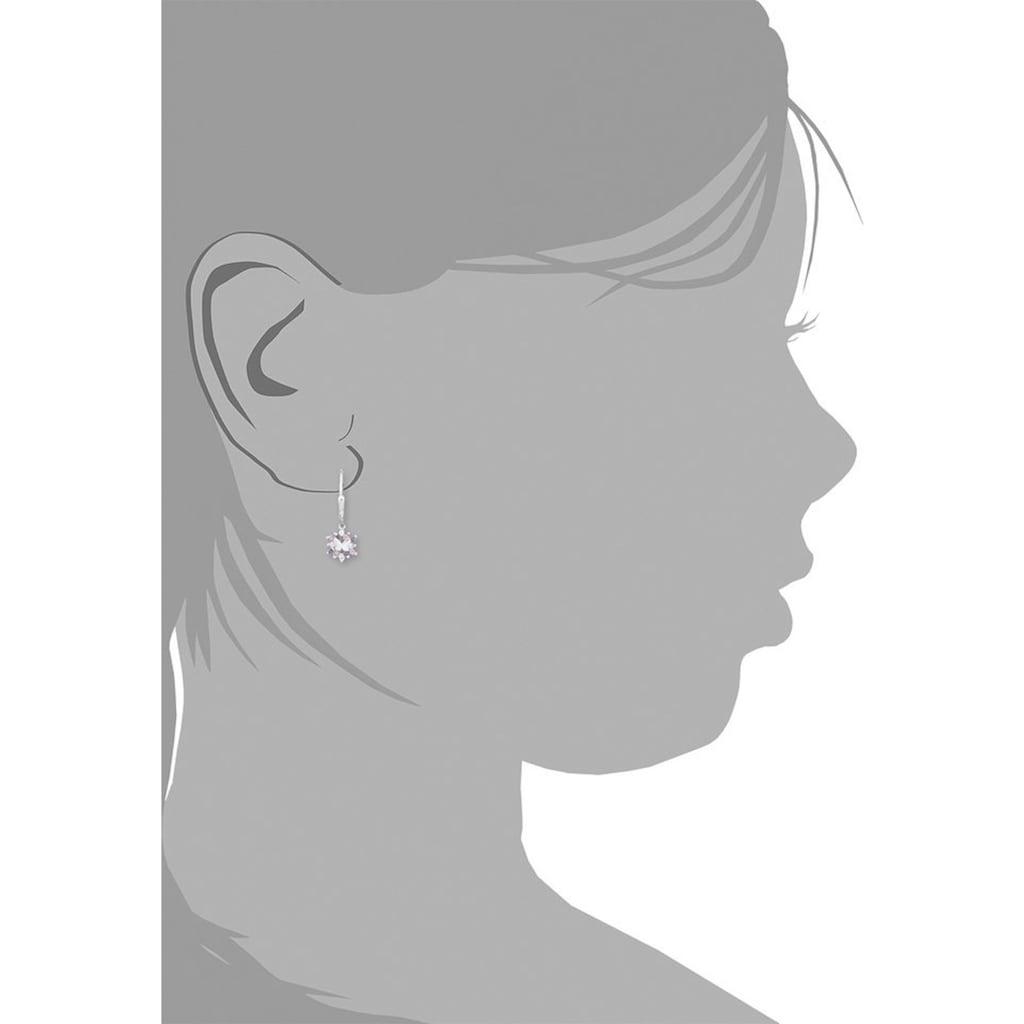 Prinzessin Lillifee Paar Ohrhänger »Schmetterling, 9245703«, mit Zirkonia