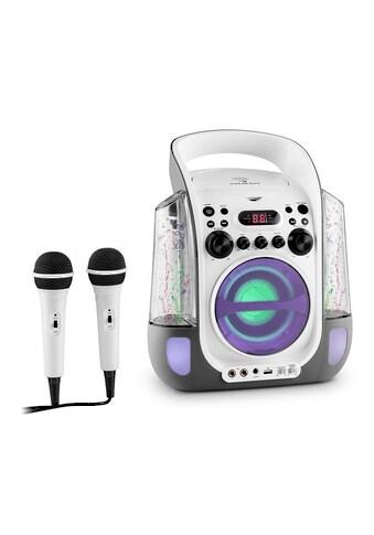 Auna Mobile Karaokeanlage CD USB MP3 LED Mikrofon Karaokemaschine kaufen