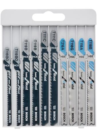 BOSCH Säbelsägeblatt »Basic for Metal and Wood«, T 119 BO (2x); T 119 B (2x); T 111 C... kaufen
