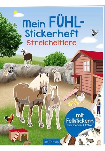 Buch »Mein Fühl-Stickerheft - Streicheltiere / Ingrid Bräuer« kaufen
