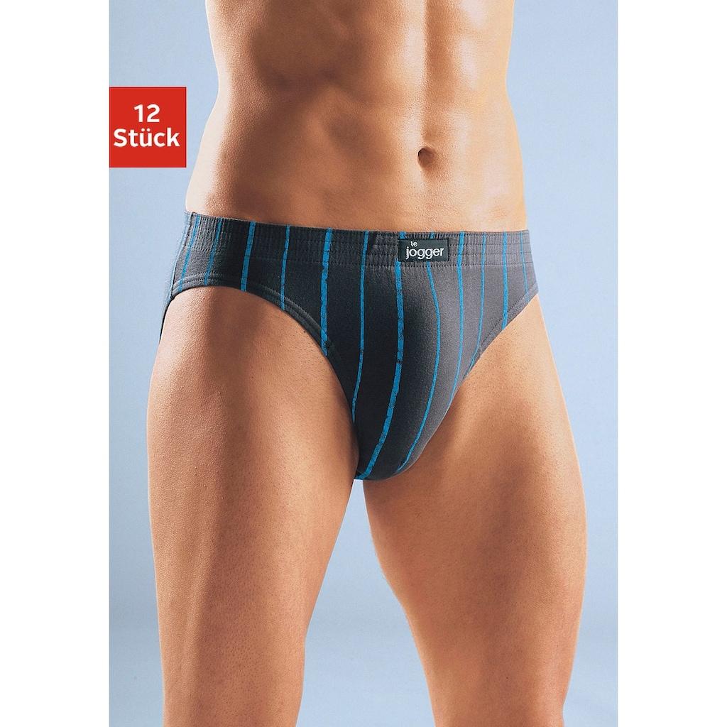le jogger® Slip, (12 St.), sportive Slips im Sparpack