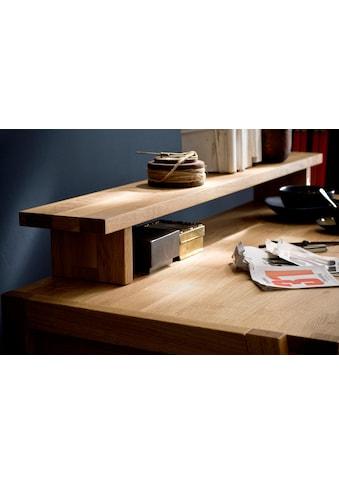 Home affaire Tischaufsatz »Dura«, aus schönem massivem Wildeichenholz, passend zum... kaufen