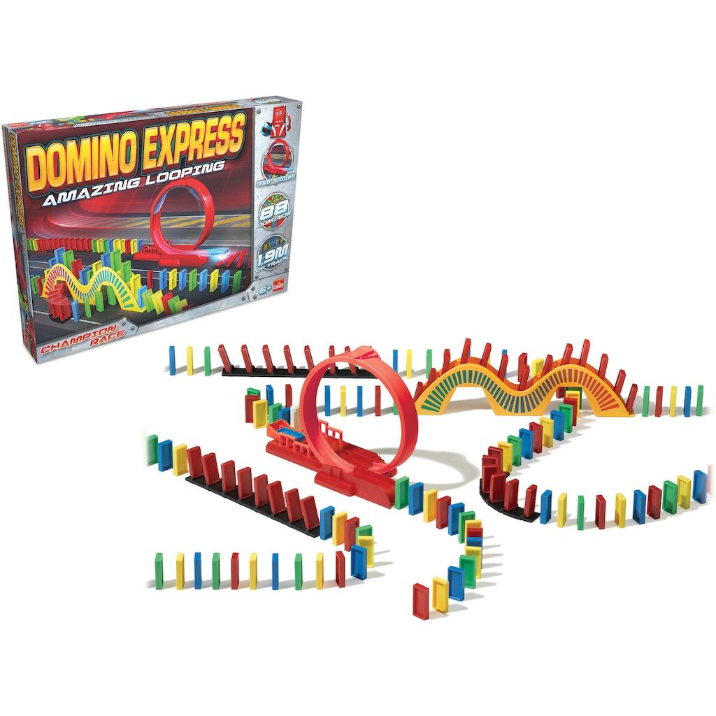 Goliath® Spiel »Domino Express Amazing Looping«, mit Hindernissen