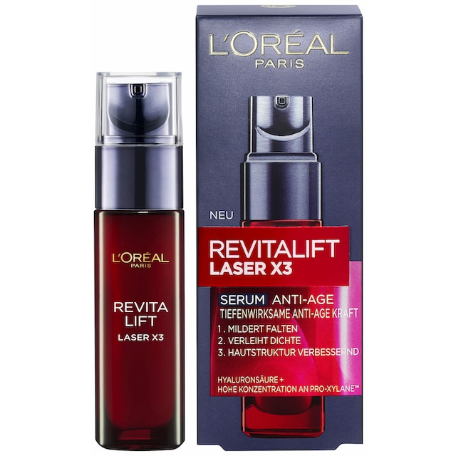 """L'ORÉAL PARIS Gesichtsserum """"Revitalift Laser X3"""""""