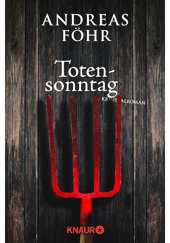 Buch »Totensonntag / Andreas Föhr« kaufen