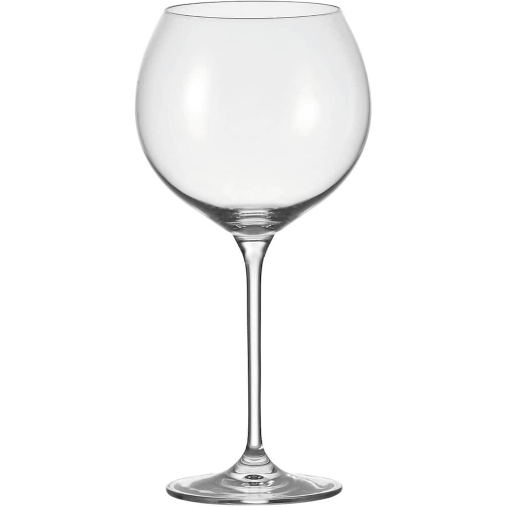 LEONARDO Rotweinglas »Cheers«, (Set, 6 tlg.), für Burgunder, 750 ml, 6-teilig