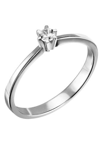 Firetti Diamantring »Solitär, ca. 1,79 mm breit, zeitlos und edel«, mit Brillant kaufen