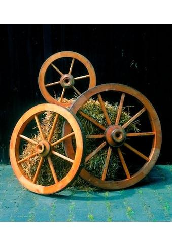 promadino Gartenfigur »Wagenrad mittel«, Ø: 74 cm kaufen