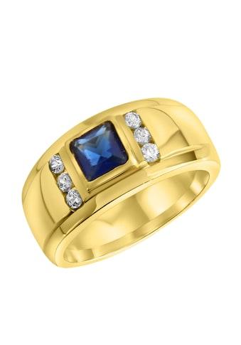 Firetti Fingerring, mit Zirkonia und zentralem Glasstein kaufen